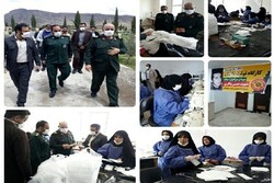 سپاه و بسیج در میدان مبارزه با کرونا/ از ضد عفونی معابر تا تولید ماسک مراکز درمانی