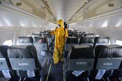 ضد عفونی ناوگان هوایی در فرودگاه کیش