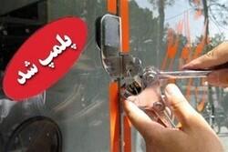 پلمب دو کارگاه ساخت اقلام بهداشتی غیرمجاز  در جنوب غرب تهران