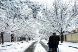 İran'da beklenen kar yağışı başladı