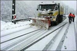 ۲۵۰ماشین آلات برای راهداری زمستانه در راههای مازندران مستقر هستند