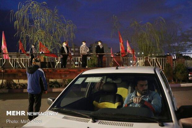 کاروان شادی میلاد امام زمان(عج) در تبریز