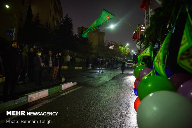 Mid-Shaban celebrations in Tehran