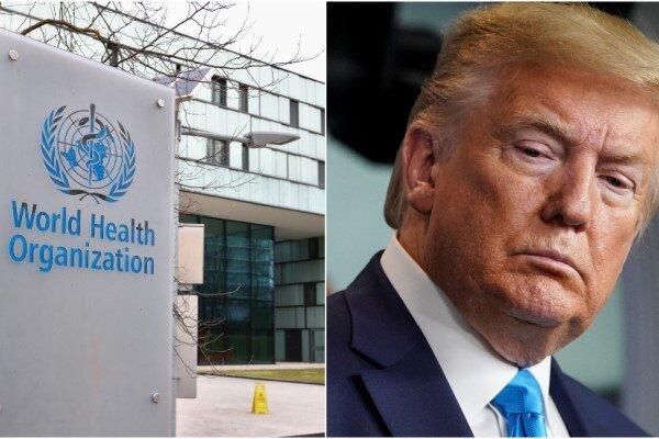 امریکی صدر نے عالمی ادارہ صحت کے فنڈ روک دیئے