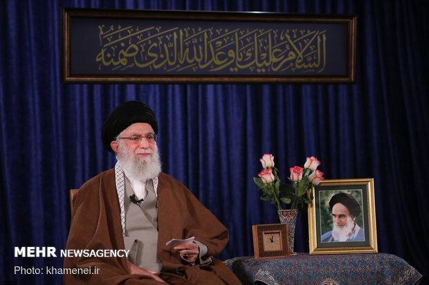 سخنرانی تلویزیونی رهبر انقلاب به مناسبت ولادت حضرت امام زمان(عج)