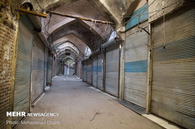 Ardabil Grand Bazaar shutdown amid coronavirus