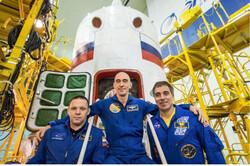 ۳ فضانورد به ایستگاه فضایی بین المللی رسیدند