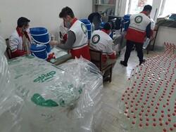 İran Kızılayı'ndan 'koronavirüs' salgınıyla mücadeleye destek
