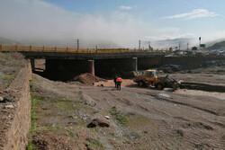 لاین شمالی محور قزوین- همدان به دلیل تخریب پل مسدود شد