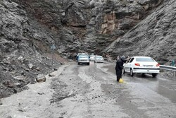 ریزش کوه در رودبار قصران ۳ نفر مصدوم بر جا گذاشت