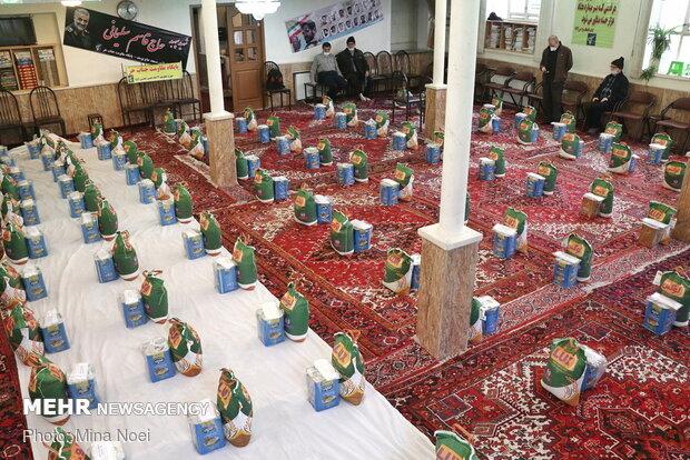 توزیع گوشت بین نیازمندان کردستانی/مشارکت خوب مردم در امور خیریه