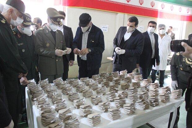 وزارة الدفاع تنتج فلاتر أيونية متطورة خاصة بالكمامات