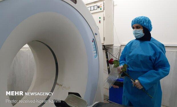 تقدیر از رادیولوژیست های سی تی اسکن بیمارستان گلستان اهواز