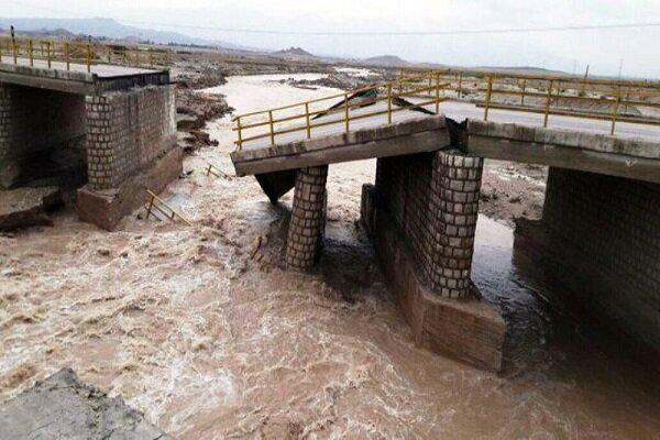 سیلاب در استان قزوین  ۷۵ میلیارد ریال به ابنیه و پلها خسارت زد