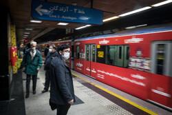 Tehran Subway during pandemic