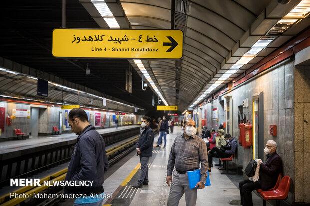 رصد وضعیت استفاده از ماسک در مترو با کمک دستگاهها پردازشگر چهره