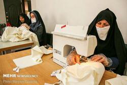 ۱۲ کارگاه تولید ماسک در بقاع متبرکه مازندران راه اندازی شده است
