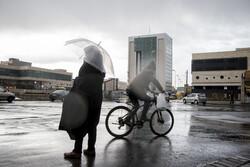 روزهای پر باران تبریز