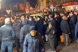 VIDEO: People flood stores after curfew announcement in Turkey