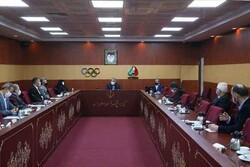 برگزاری نشست اعضای هیات اجرایی کمیته ملی المپیک به صورت حضوری