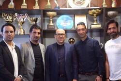 دیدار و گفتگوی چهار پیشکسوت استقلال با مدیرعامل باشگاه