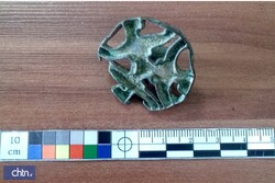 Millennia-old bronze stamp recovered in northeast Iran