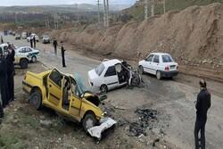 ۳۵نفر در تصادفات درون شهری زنجان کشته شدند