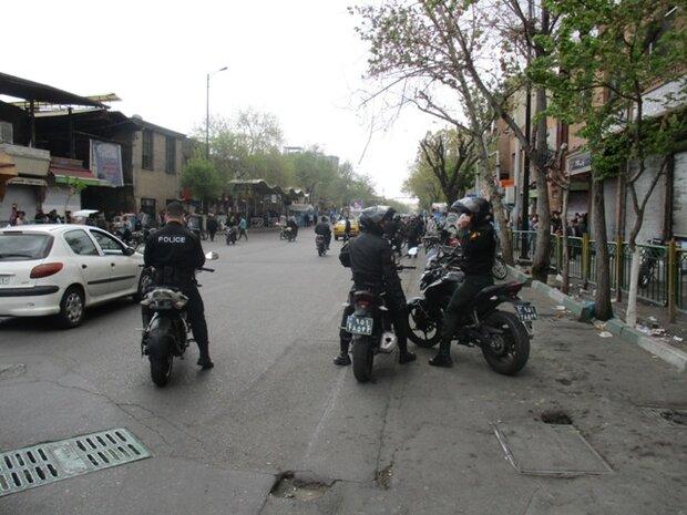 اجرای طرح جمعآوری معتادان متجاهر در پایتخت