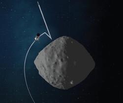 فضاپیمای ناسا عملیات نمونه برداری از سیارک را تمرین می کند