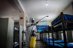 إجراءات وقائية لمنع تفشي كورونا في ثكنات الجيش / صور