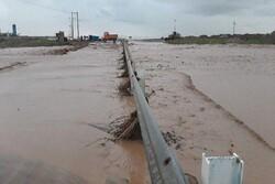 بارندگی به ۲۵ درصد از ابنیه و راههای دامغان خسارت زد