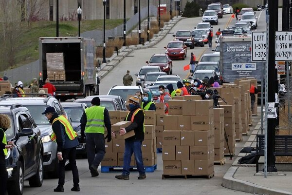 Hunger on the rise in corporate America amid COVID-19