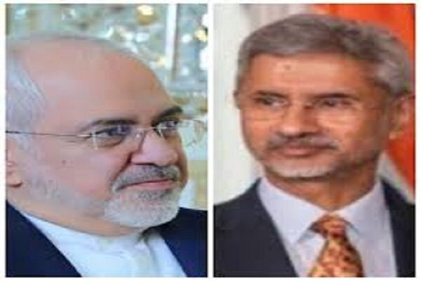 Iranian, Indian FMs discuss COVID-19 on phone