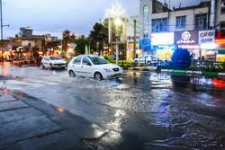 Heavy rainfall, flood in Qom