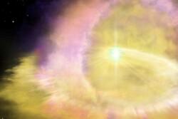 ابرنواختری ۱۰۰ برابر بزرگتر از خورشید رصد شد