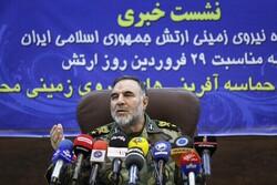 ایران کی بری فوج کے سربراہ کا پریس کانفرنس سے خطاب
