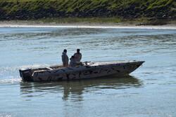 توقیف ۱۳ فروند شناور متخلف با ۴۸ مسافر غیرمجاز در آب های کیش