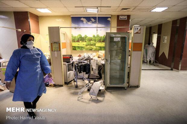 بازگشت به قبلBaghiyatallah hospital returning back to pre-coronavirus days incrementally