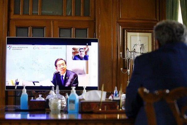 Tehran, Seoul mayors discuss fight against COVID-19