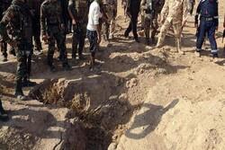 کشف گور دسته جمعی حاوی اجساد ۵۰ نفر از قربانیان داعش در عراق