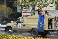 İran Devrim Muhafızları'ndan Astara'da biyolojik savunma tatbikatı
