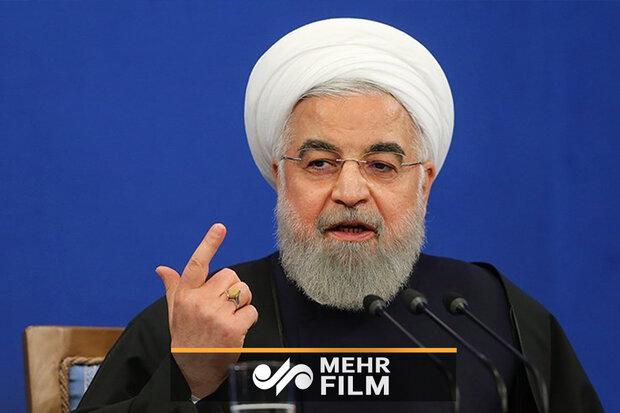 روحانی: ارتش برای هر مشکلی همیشه در صحنه است