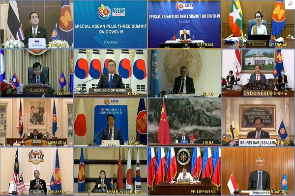 ASEAN Plus Three countries pledge to jointly fight COVID-19