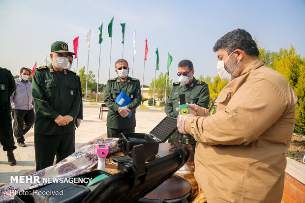 IRGC unveils device for smart detection of COVID-19