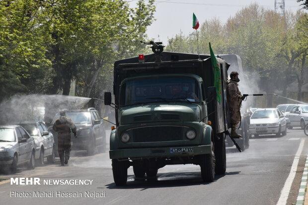 Gilan IRGC Quds Force staged Bio-Defense Drill in Astara