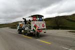 ۱۸۰ کیلومتر از جاده های مازندران خط کشی شد