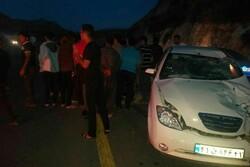 تصادف ۳ خودروی سواری در لواسان ۸ مصدوم برجای گذاشت