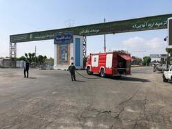 گندزدایی معابر جنوب تهران در سه مسیر اصلی انجام شد
