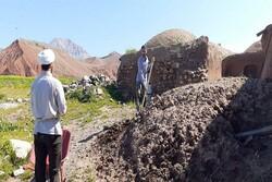 سیلاب سے متاثرہ گاؤں بہانگر داورزن میں امداد رسانی کا کام جاری
