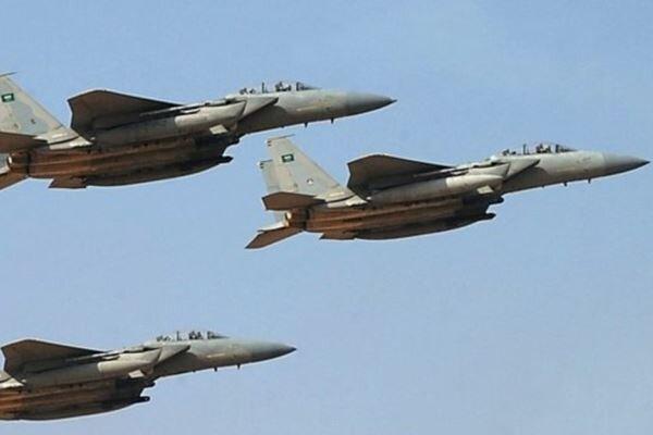 جنگنده های ائتلاف سعودی و بمباران یمن